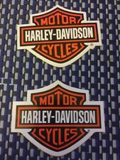 "Harley Davidson X2 RACING DECALS STICKER 4x3.25 INCH ""FREE SHIPPING"""