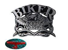 100% AUTHENTIC BIKER Pin Anstecker Anstecknadel Chopper USA Harley forever 1% V2