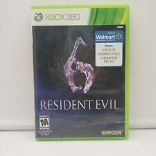Resident Evil 6 (Microsoft, XBox 360) Game - Free/Fast Shipping - pre-owned
