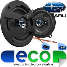 Subaru Impreza 93-07 SCOSCHE 13cm 320 Watts 4 Way Rear Door Car Speakers & Wires