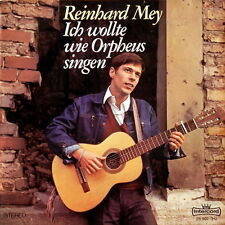 Reinhard Mey Ich wollte wie Orpheus singen (Hauptbahnhof Hamm) 70`s Intercord