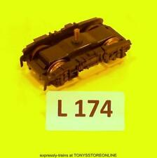 l174)lima oo s/h spare cl43 hst leading non-motorised bogie for power/dummy car