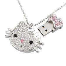 Pendrive Cute 8GB Crystal Jewelry Bling USB 2.0 Flash Full Capacity Memory Stick