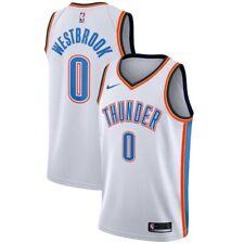 Nike Westbrook Icon Edition Swingman Basketball Jersey Oklahoma Thunder Large