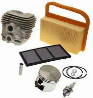 Cylinder Head  / Piston Air Filters, Plug Fits STIHL TS410 TS420 Service Kit