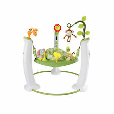 Evenflo ExerSaucer Jump and Learn Safari Jumping Activity Baby Jumper (Open Box)