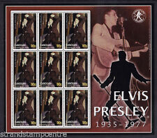 Elvis Presley Canouan Unmounted Mint Stamp Sheet from Grenadines