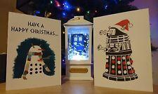 RARE SET OF 6 DALEK CHRISTMAS CARDS DOCTOR WHO
