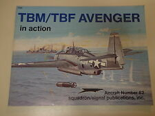 TBM/TBF Avenger in Action 1987 Squadron Signal Publications #82