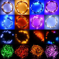 2M 3M 4M 5M Battery Power Operated String Fairy Light For Chrismas Party Wedding