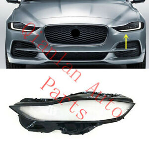 Left Side Clear Headlight Cover With Glue For Jaguar XE 2020-2021