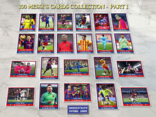 NEW! Messi Lionel Collection 100 cards football soccer ñ panini rookie Barcelona