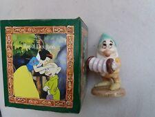 Royal Doulton Disney snow white and seven dwarfs Bashful's Melody sw18 BOXED