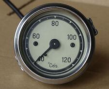 Temperaturanzeige Fernthermometer 40-120 C - Ø 60mm mechanisch für Traktor  (11