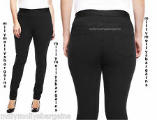 New Womens Marks & Spencer Black Jeggings Size 12 10 Medium
