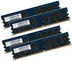 4x 2GB 8GB RAM PC Speicher DDR2 800 Mhz PC2-6400U f. Intel +AMD Low Density DIMM