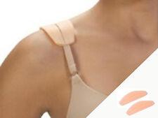 2 Bra Strap Cushions -  Say Goodbye to Sliding Straps Comfy Beige Soft Silicon
