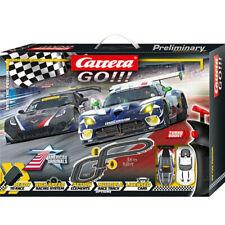 Carrera Go! Onto The Podium 1:43 Scale Slot Car Racing  w/2 Vehicles Kids 6y+
