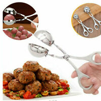 1PC Stainless Steel Meatball Tong Clamp DIY Meat Rice Ball Maker Kitchen Gadget