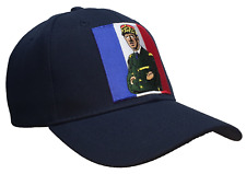 Charles De Gaulle Hat Blue Ball Cap French Flag World War II French Resistance