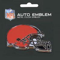 Cleveland Browns Heavy Duty Metal 3-D Color Auto Emblem