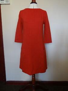 Monsoon Roberta Ribbed Dress Three Colours- Orange, Grey or Black Lovely dress!!