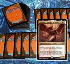 mtg RED WHITE BOROS DECK Magic the Gathering rares 60 cards aurelia tajic gideon