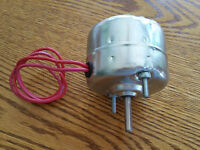 VINTAGE 12 VOLT DEFROSTER/FAN MOTOR/RAT ROD/DUNE BUGGY/SINGLE SPEED/MOTOR ONLY