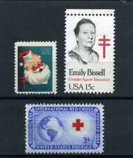 CHRISTMAS SEAL  1951,-''EMILY BISSEL {Introducer Seals}  RED CROSS /52  U.S.