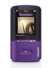 "Philips GoGear Vibe MP4/MP3/JPG/WMA/WAV 8GB 1.8"" Screen Compact Video Player"