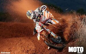 KTM Dirt Bikes Racing Speed High Quality wall  Art poster Choose your Size