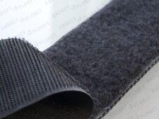 Premium 1m De Gancho Y 1 millón de bucle De 2mtrs X 20 Mm Negro auto adhesivo cinta adhesiva