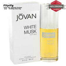 JOVAN WHITE MUSK Cologne 3 oz EDC Spray for Men by Jovan