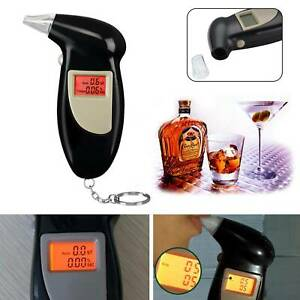 New Professional Breathalyser Police LCD Digital Breath-Alcohol Tester UK Seller