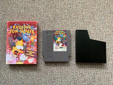 Krustys Fun House Nintendo NES Game