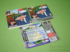 Playstation PS1 Instruction Manual & Artworks - Air Combat (Platinum) *No Game*