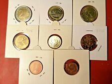 Finland * 1 cent - 2 Euro- 2005  *8 - coins *UNC  coins*RARE*REA-ALE