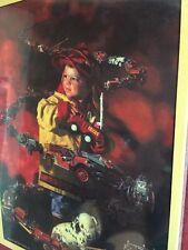 Puzzle Little Fireman Fire Trucks 500 Piece Art By Bob Byerley The Brigade New