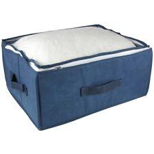 Aufbewahrungsbox faltbar mit durchsichtigem Deckel, Reißverschluß & Tragegriffen