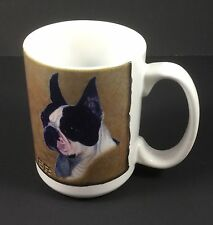 Boston Terrier Coffee Mug By Mia Lane Animal Lover Puppy Paw Prints Dog Tea cup
