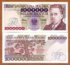 Poland, 1000000 (1,000,000) Zlotych, 1993, P-162, UNC