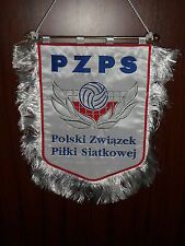Volleyball Poland team EMBROIDERED federation Olympic games pennant flag wimpel