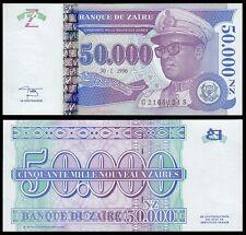 Zaire 50,000 (50000) Nouveaux Zaires, 1996, P-75, UNC