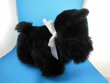 "Adorable Valentines Day Black Scotty Dog 10""x 13"" Kelly Toy"