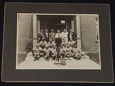 1920's - WATERLOO - QUE, CANADA - BASEBALL TEAM - CABINET PHOTO - ORIGINAL