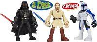 Playskool Star Wars Jedi Force Darth Vader Obi-Wan Captain Rex Ages 3+ Toy Boys