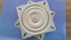 """7"""" SWIVEL METAL REPLACEMENT PLATE FOR BAR SEAT 6.25"""" x 6.25"""" (ONE EACH) USA MADE"""