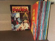 IL CORRIERE DELLA PAURA 1-22 COLLEZIONE COMPLETA CORNO 1974 N. 11 CON POSTER