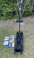 Nordic Track  Challenger Ski Machine w/ monitor, Manual, And VHS Used