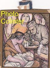 Journée Pasteur Mai 1923 -  insigne en carton - Dessin de Maurice Denis